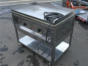業務用の電気鉄板焼機を買取しました